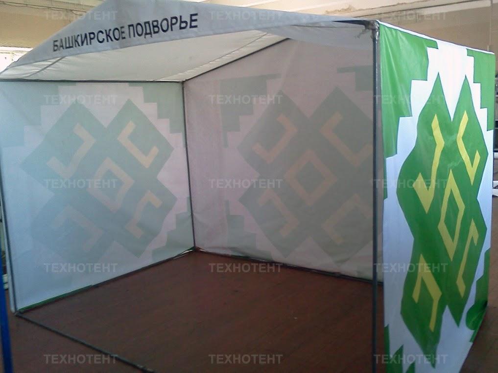 Торговая палатка с печатью