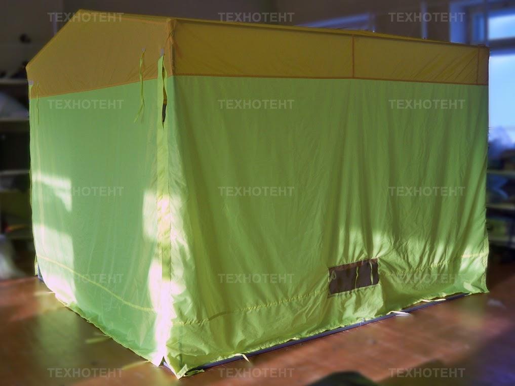 торговая палатка желтая